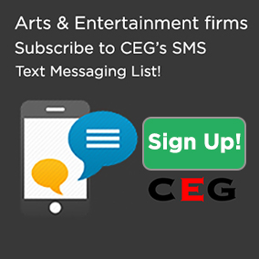 In the Arts & Entertainment Industry? Text CEG about your digital marketing, SEO, video editing and artist management needs!
